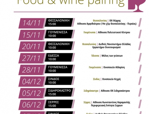 Wine Tourism seminar for professionals